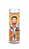Baker Mayfield Cleveland Browns Saint Celebrity Prayer Candle