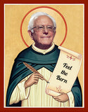 Bernie Sanders Saint Celebrity Prayer Candles 2020 president gifts