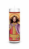 Beyonce Knowles Saint Celebrity Prayer Candle