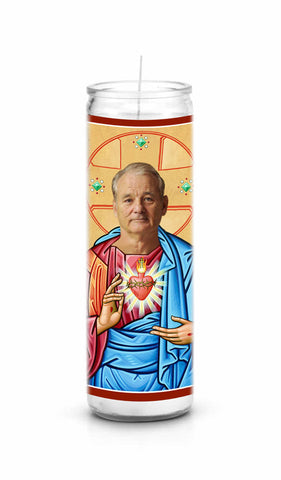Bill Murray Saint Celebrity Funny Prayer Candle