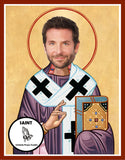 Bradley Cooper Saint Celebrity Prayer Candles