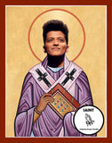 Bruno Mars Saint Celebrity Prayer Candles