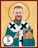 Carson Wentz Philadelphia Eagles Saint Celebrity Prayer Candles