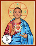 Chester Bennington Saint Celebrity Prayer Candles