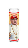 Coach Andy Reid Kansas City Chiefs Saint Celebrity Prayer Candle