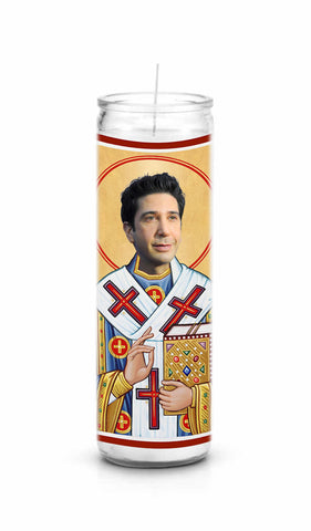 David Schwimmer Celebrity Prayer Candle
