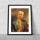 Donald Trump Funny Celebrity poster print art canvas novelty gift maga