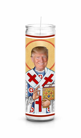 Donald Trump Celebrity Prayer Candle