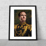 Drew Brees New Orleans Saints Funny Celebrity poster art novelty gift