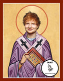 Ed Sheeran Saint Celebrity Prayer Candles