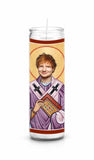 Ed Sheeran Saint Celebrity Prayer Candle