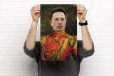 Elon Musk Funny Celebrity poster canvas art
