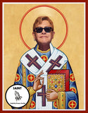 Elton John Saint Celebrity Prayer Candles