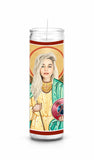 Emilia Clarke GOT Game of Thrones Saint Celebrity Prayer Candle Gift