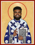 Ezekiel Elliott Celebrity Prayer Candle