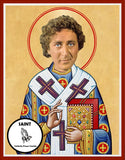 Gene Wilder Saint Celebrity Prayer Candles