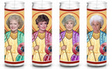 Golden Girls Funny Saint Celebrity Prayer Candle Gift Set
