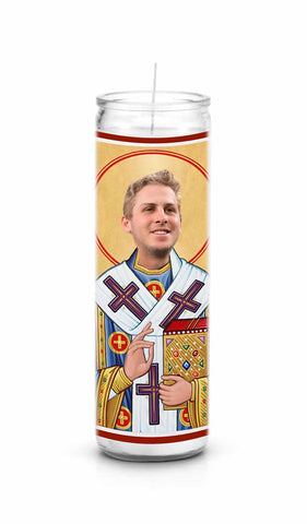 Jared Goff Los Angeles LA Rams Saint Celebrity Prayer Candle