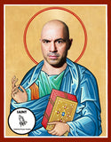 joe rogan experience podcast Saint Celebrity Prayer Candle