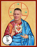 John Cena WWE Saint Celebrity Prayer Candles Gifts