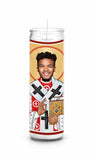 Kyler Murray Arizona Cardinals Saint Celebrity Prayer Candle