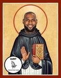 Lebron James Los Angeles LA Lakers Saint Celebrity Prayer Candles