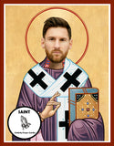Lionel Messi Barcelona FC Saint Celebrity Prayer Candles Gifts