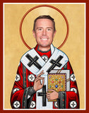 funny Matt Ryan Atlanta Falcons celebrity prayer candle novelty gift