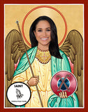 Meghan Markle Saint Celebrity Prayer Candles Gifts