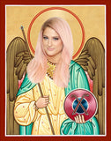 Meghan Trainor Funny Saint Celebrity Prayer Candle Gift