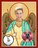 Miley Cyrus Saint Celebrity Prayer Candles