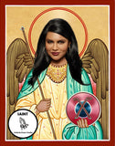 Mindy Kaling Saint Celebrity Prayer Candles funny novelty gifts