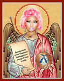 funny Nicki Minaj celebrity prayer candle novelty gift