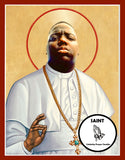 Notorious BIG Biggie Smalls Saint Celebrity Prayer Candles