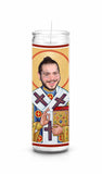 Post Malone Posty White Iverson Saint Celebrity Prayer Candle