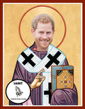 Prince Harry Saint Celebrity Prayer Candles Gifts