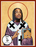 Quavo Migos celebrity prayer candle gifts