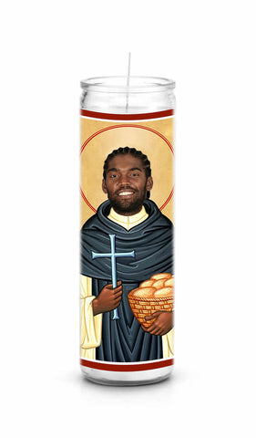 Randy Moss celebrity prayer candle novelty gift
