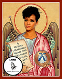 Rihanna Bad Girl RiRi Saint Celebrity Prayer Candles Gifts