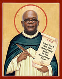 funny Samuel L Jackson celebrity prayer saint candle gift