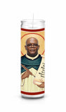 Samuel L Jackson celebrity prayer candle