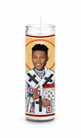 Saquon Barkley New York Giants Celebrity Prayer Candle