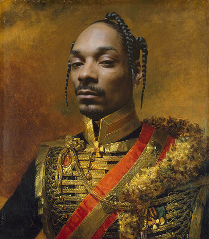 Snoop Dogg Funny Celebrity rapper poster art