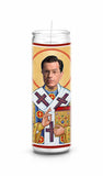 Stephen Colbert Funny Novelty Saint Celebrity Prayer Candle Gift