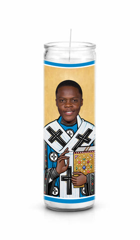 Teddy Bridgewater Saint Celebrity Prayer Candle