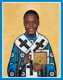funny saint Teddy Bridgewater celebrity prayer candle novelty gift