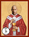 Dwayne The Rock Johnson Saint Celebrity Prayer Candles
