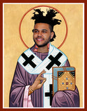 The Weeknd celebrity prayer candle novelty gifts
