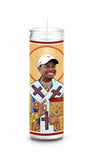 Tiger Woods Saint Celebrity Prayer Candle