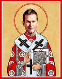 funny Tom Brady Tampa Bay Buccaneers football celebrity prayer candle novelty gift